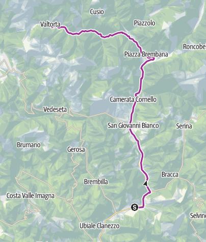 Map / Zogno - Valtorta