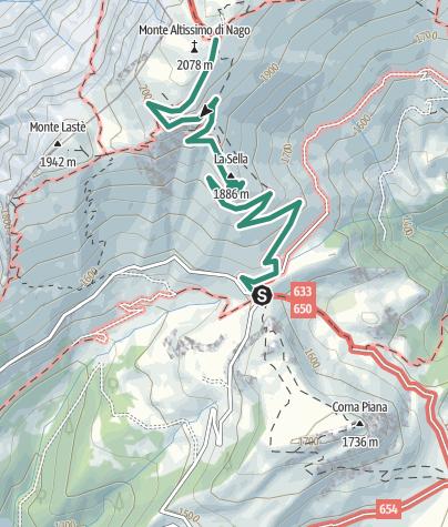 Cartina / Monte Altissimo