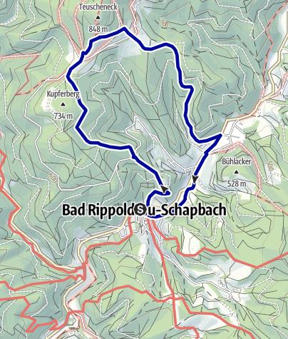Karte / Auf den Kupferberg