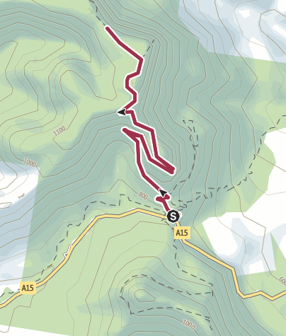 Map / Bare Rock Track