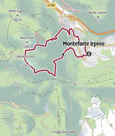Map / Pizzone-Anello-2016_11_01