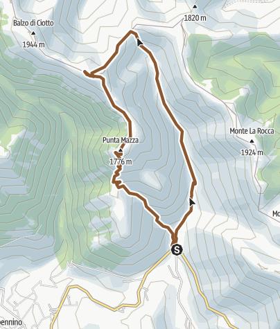 Map / SERRONE M T B
