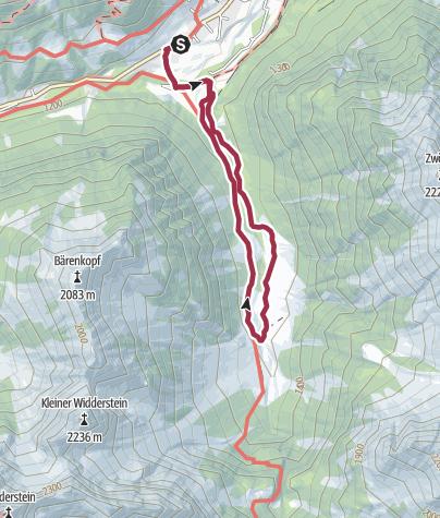 Karte / Rundwanderung Gemstel