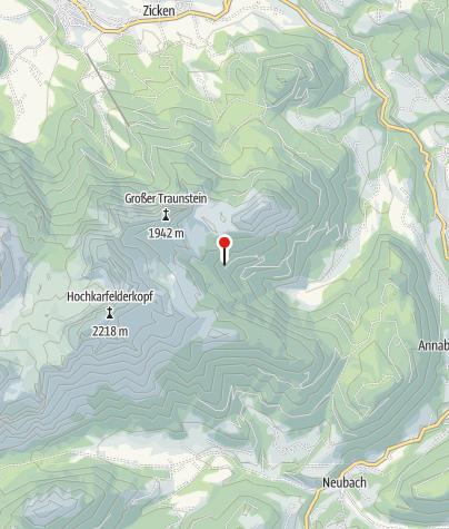 Karte / Gwechenberghütte