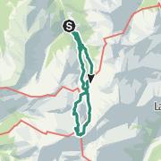 Karte / Lizumer Reckner + Sonnenspitze, Lager Walchen Wattental