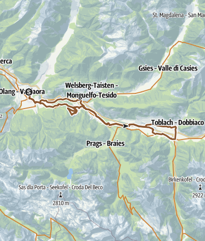 Map / Waldealm on GPSies.com