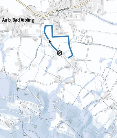 Karte / Bad Feilnbach - Auer Runde am Webergletscher