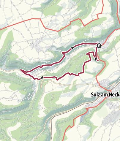 Karte / Paradiestour Im Glatt-Tal