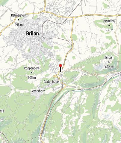 Karte / Trailground Brilon