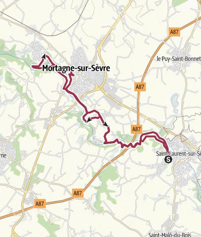 Map / La Barbinière - Gazeau AR