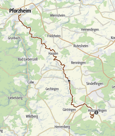 Map / Würmtal Radweg