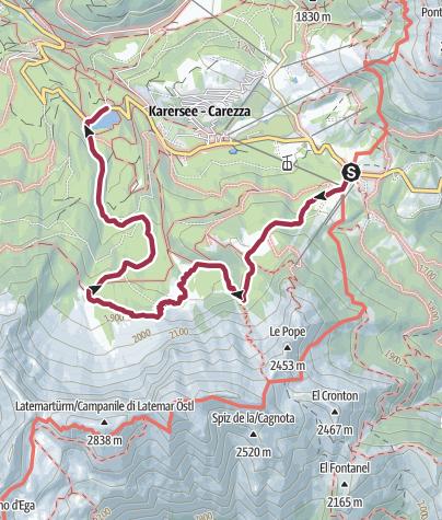 מפה / Im Schatten der Latemartürme
