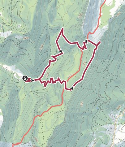 Map / PRAYET - ROCHEPLANE - BELLEFONT - SAULCE
