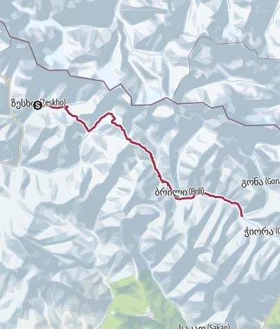 Map / სვანეტი რაჭა-გეგმა
