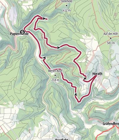Karte / Rund um den Harpelstein im Moselort Neummagen-Dhron