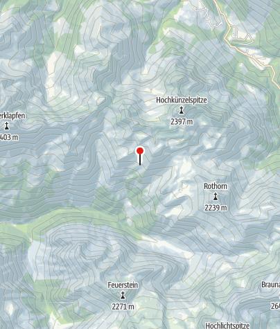 Karte / Obere Ischkarneialpe 1821 m
