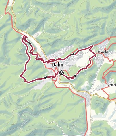 Carte / Dahner Rund Wanderweg (variante)