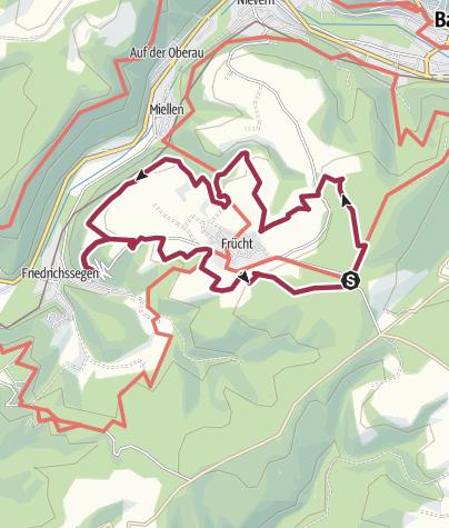 "Karte / Panoramaweg ""Schweizer Bergromantik"""
