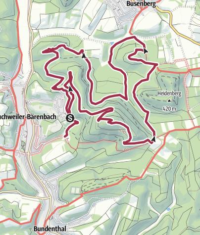 Karte / Bären-Steig