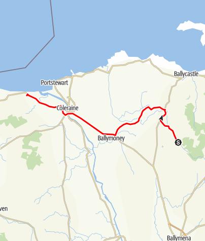 Map / Donegal Run Leg 3