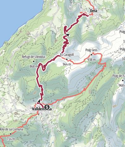 Carte / GLP_3 Valldemossa-Deia