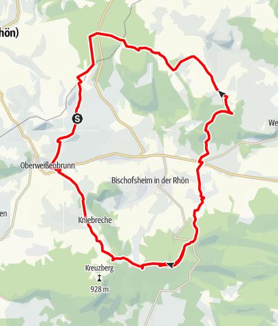 Karte / Kreuzberg Tour