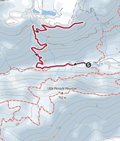 Map / Rainbow Falls Trail