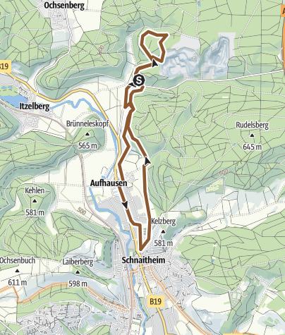 Map / ostermontagTrack 28.03.2016