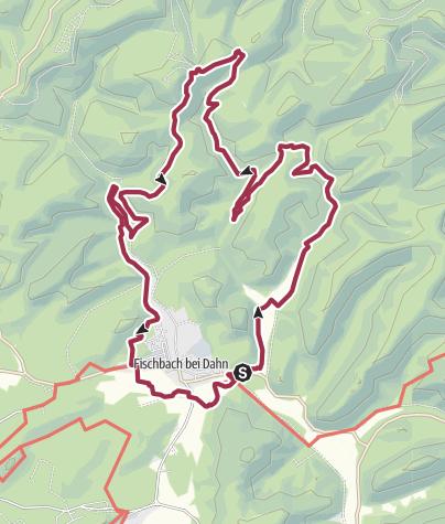 Karte / Brunnen und Quellenweg