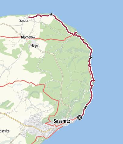 Map / Hochuferweg