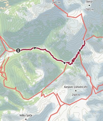 Map / Luknja from Trenta