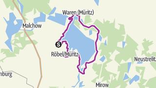 Map /  Müritz-Rundweg