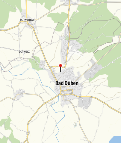 Karte / Obermühle Bad Düben