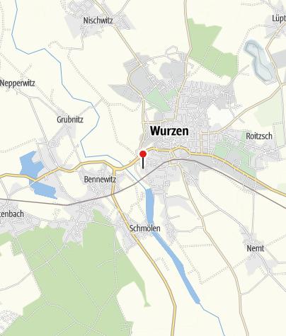 Karte / Freizeit- und Erlebnisbad ´Dreibrücken´ Wurzen
