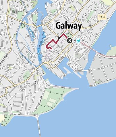 Mappa / Galway in Irlanda