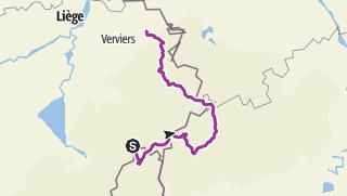 Map / Gouvy - Prüm - Eupen