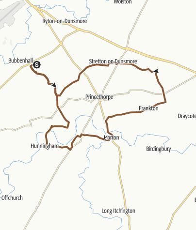 Map / Ryton Pools MTB Bridleway Challenge