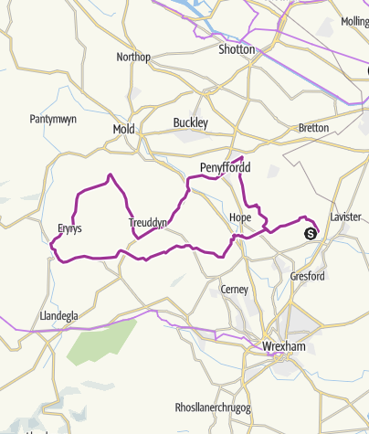 Map / home nercwys circuit