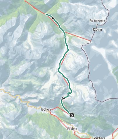 Karte / Lü - S-charl
