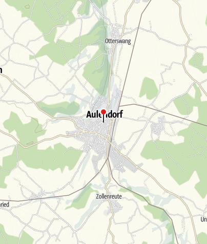 Mapa / Hotel Arthus & Ritterkeller Aulendorf