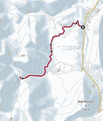 Map / Dodgeton/Baker Creek