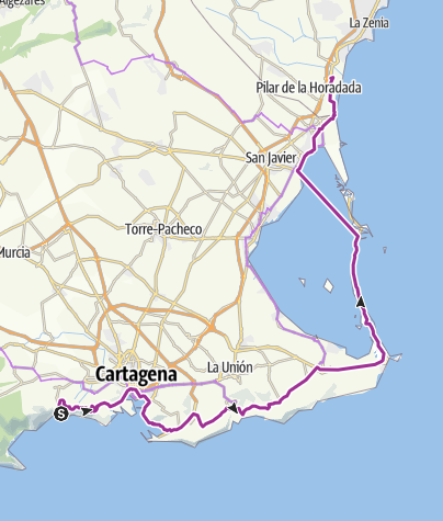 Map / Spain stage 8