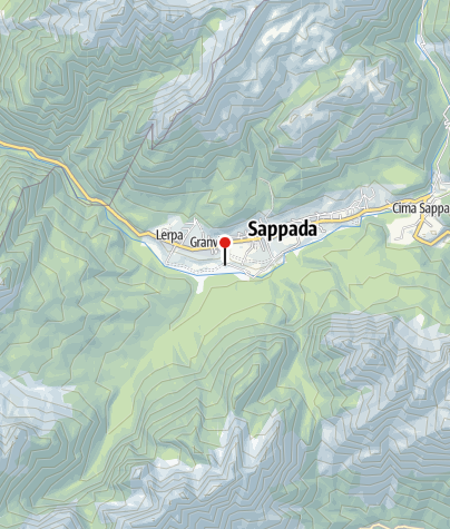 Cartina / AREA CAMPER - Sappada