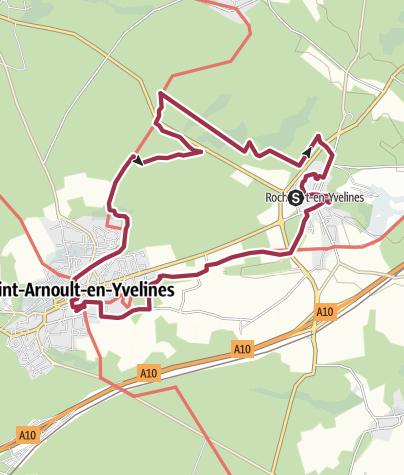 Map / 10653315-2020 01 26 Rochefort en Yvelines Base