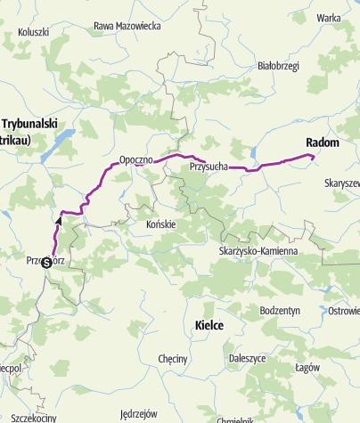Map / V etap Przedbórz Radom