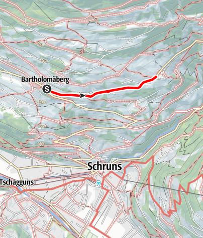 Karte / Barrierefrei - tolle Aussicht auf dem Panoramaweg genießen