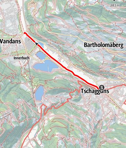 Karte / Barrierefrei - Spaziergang entlang der Ill
