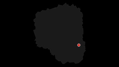 Karte / Radwandern ohne Gepäck auf dem Mulderadweg