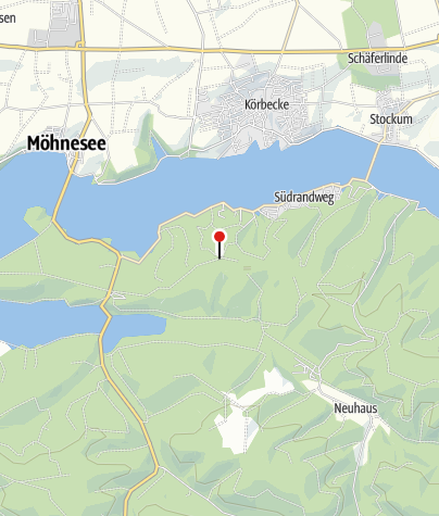 Karte / Möhneseeturm