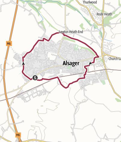Map / Alsager Outer Loop v1